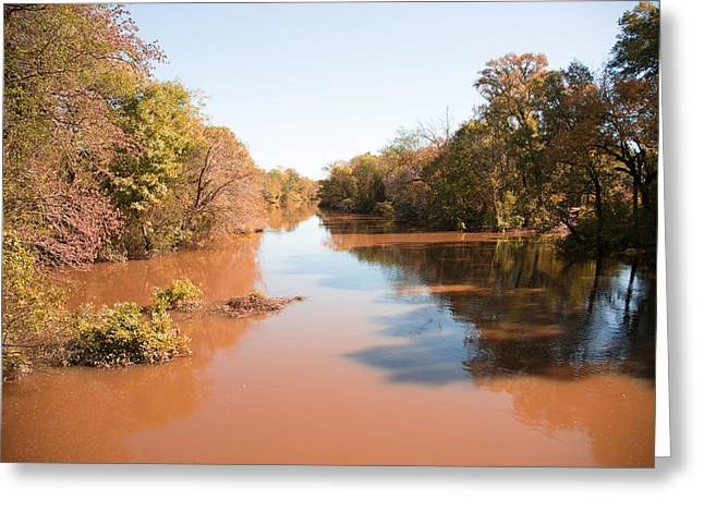 Sabine River Near Big Sandy Texas Photograph Fine Art Print 4084 Greeting Card by M K  Miller