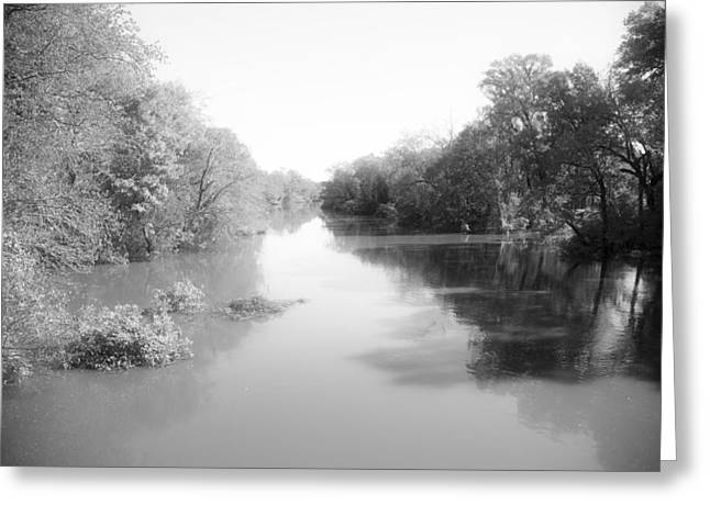 Sabine River Near Big Sandy Texas Photograph Fine Art Print 4085 Greeting Card by M K  Miller