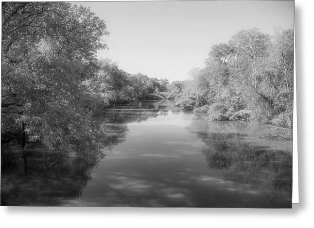 Sabine River Near Big Sandy Texas Photograph Fine Art Print 4088 Greeting Card by M K  Miller