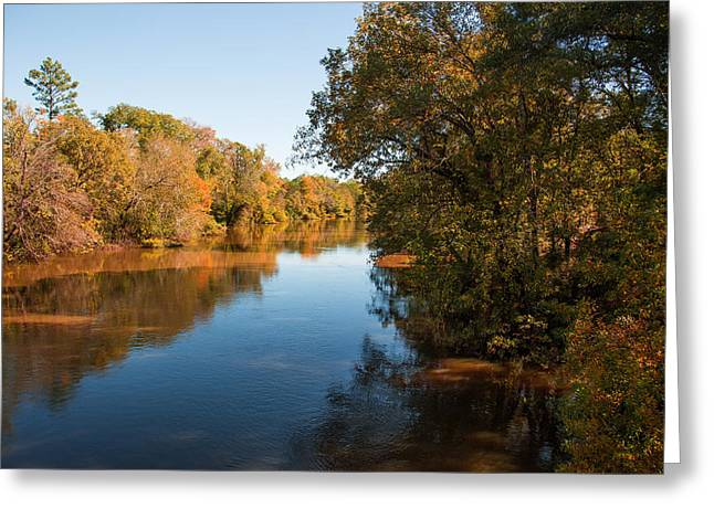 Sabine River Near Big Sandy Texas Photograph Fine Art Print 4090 Greeting Card by M K  Miller