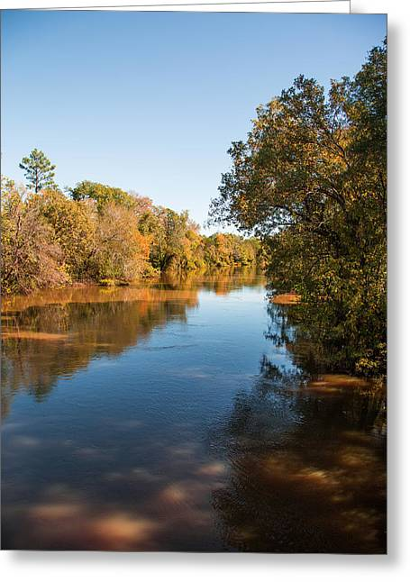 Sabine River Near Big Sandy Texas Photograph Fine Art Print 4093 Greeting Card by M K  Miller