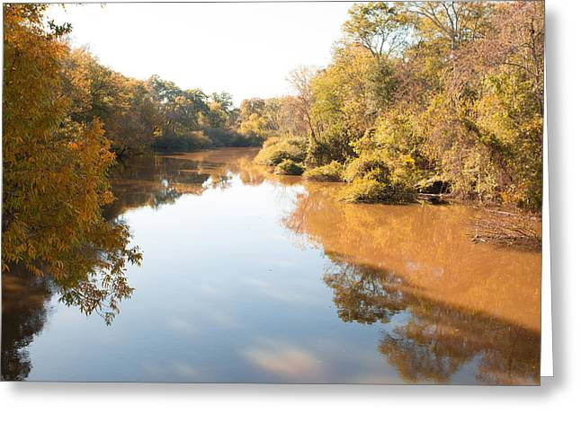 Sabine River Near Big Sandy Texas Photograph Fine Art Print 4106 Greeting Card by M K  Miller