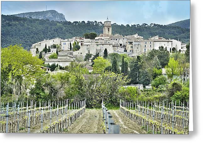 Sablet, Provence, France Greeting Card
