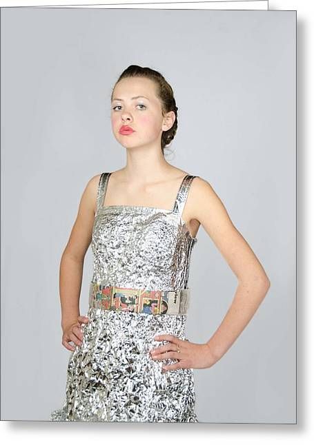 Nicoya In Secondary Fashion Greeting Card