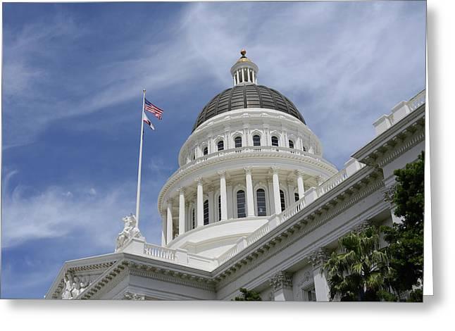 Sacramento Capitol Building Greeting Card
