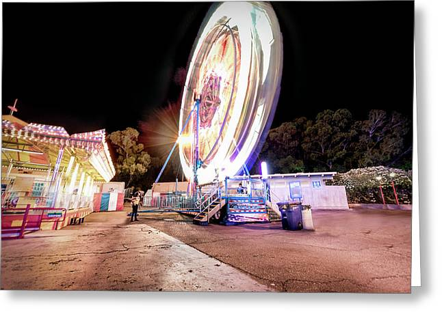 Greeting Card featuring the photograph Sacramento State Fair- by JD Mims