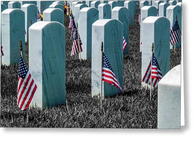 Sacramento Valley Veterans Cemetary Greeting Card