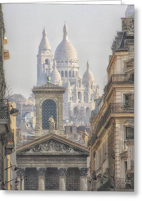 Sacre-coeur  Greeting Card