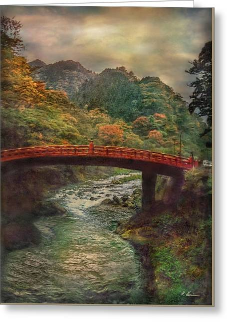 Greeting Card featuring the photograph Sacred Bridge by Hanny Heim