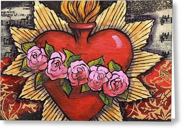 Sacred Heart No. 1 Greeting Card