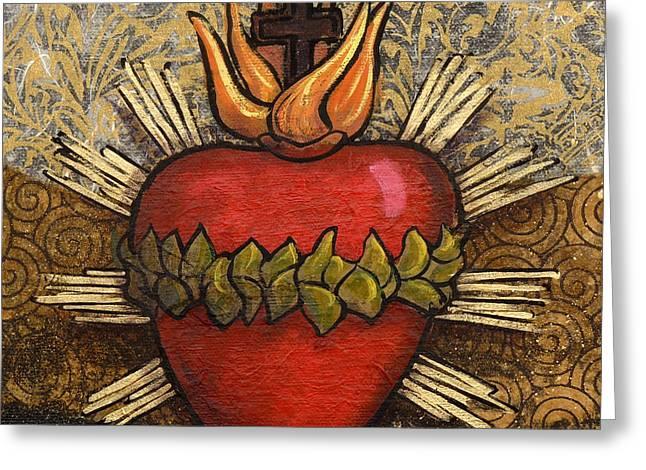 Sacred Heart No. 4 Greeting Card