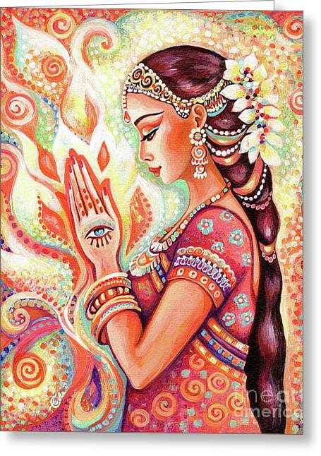 Sacred Pray Greeting Card
