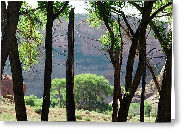 Sacred Space - Canyon De Chelly Greeting Card