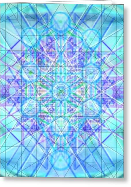 Sacred Symbols Out Of The Void 3b1 Greeting Card