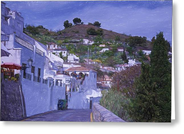 Sacromonte Neighborhood Granada Spain Greeting Card