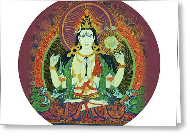 Sada Shiva  Greeting Card