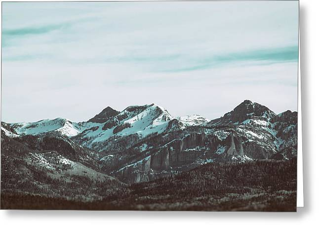Greeting Card featuring the photograph Saddle Mountain Morning by Jason Coward