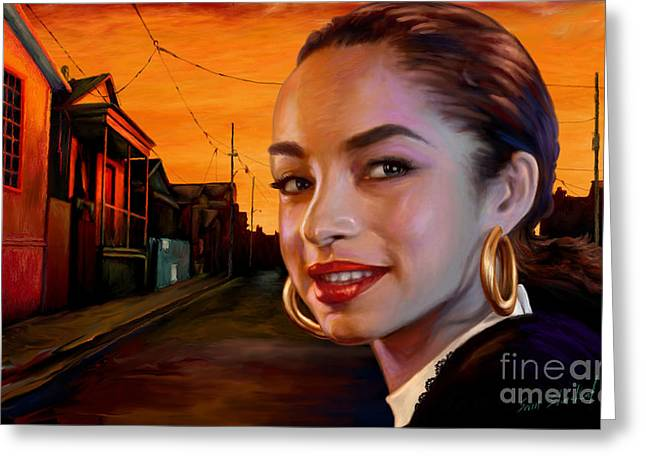 Sade Greeting Card
