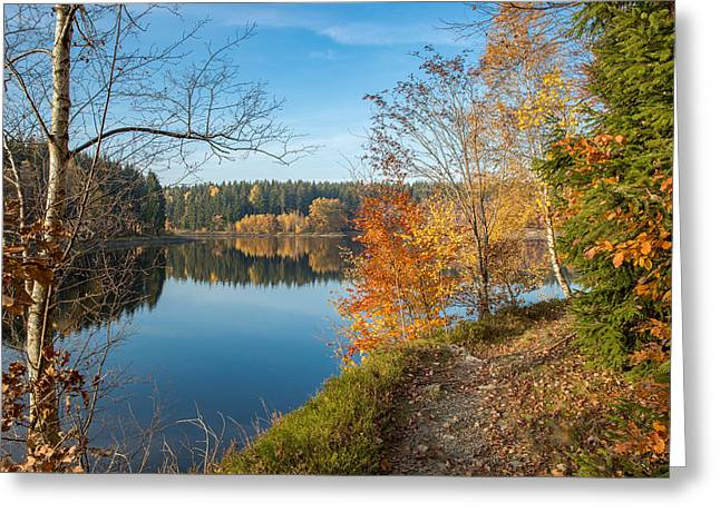 Saegemuellerteich, Harz Greeting Card