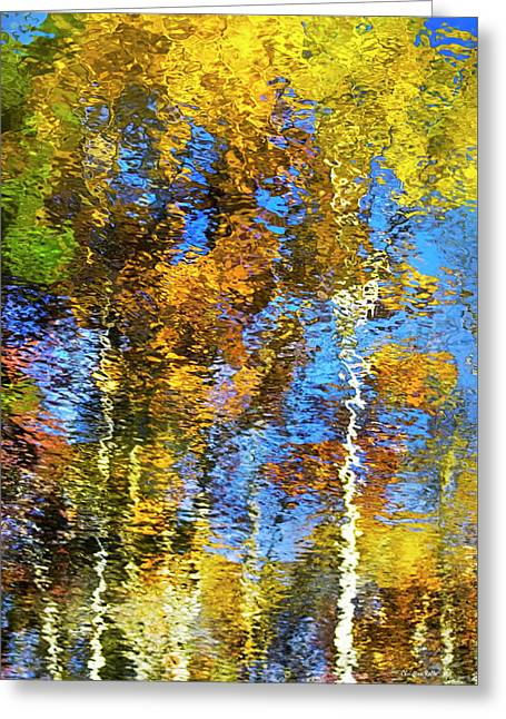 Safari Mosaic Abstract Art Greeting Card by Christina Rollo