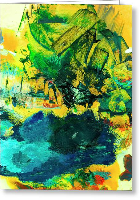 Safe Harbor #305 Greeting Card by Donald k Hall
