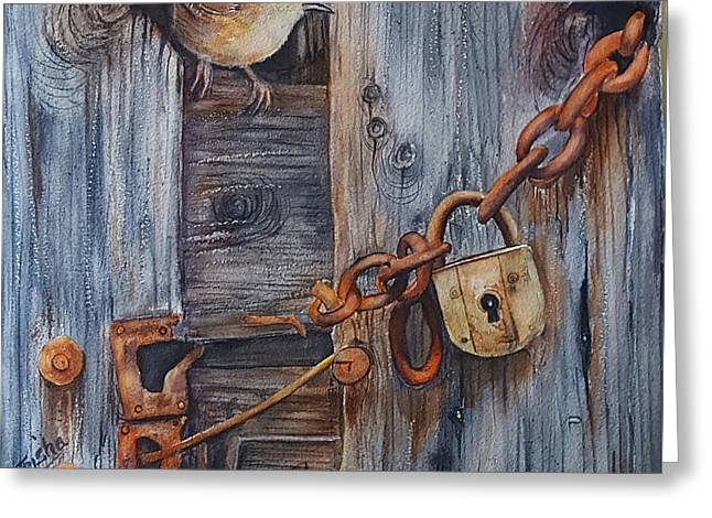 Safe Haven Greeting Card by Patricia Pushaw