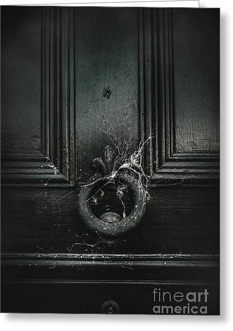 Safety Behind Closed Doors Greeting Card by Jorgo Photography - Wall Art Gallery