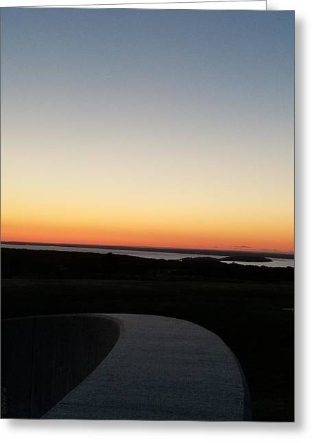 Greeting Card featuring the photograph Sag Harbor Sunset 3 by Rob Hans