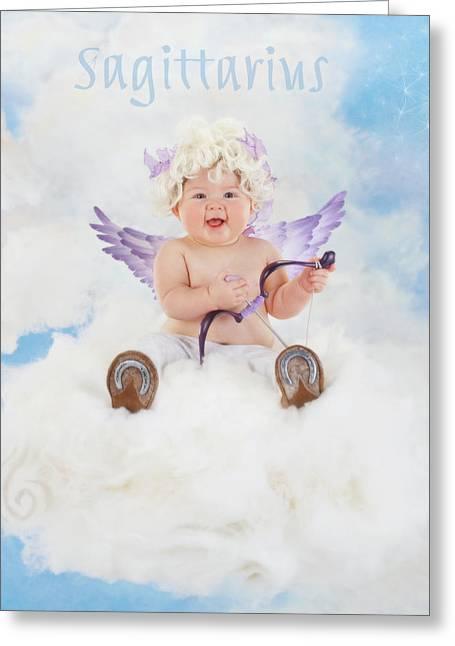 Sagittarius  Greeting Card by Anne Geddes
