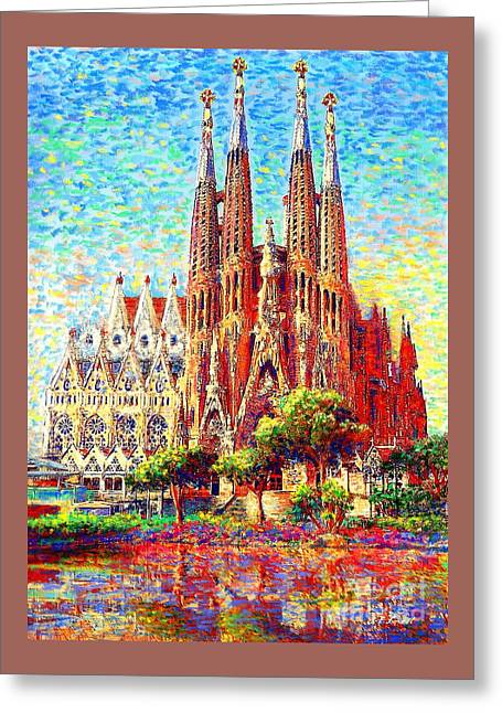 Sagrada Familia Greeting Card