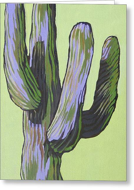 Saguaro 5 Greeting Card
