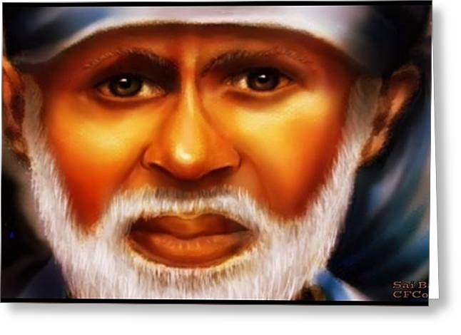 Sai Baba -pray For Us Greeting Card