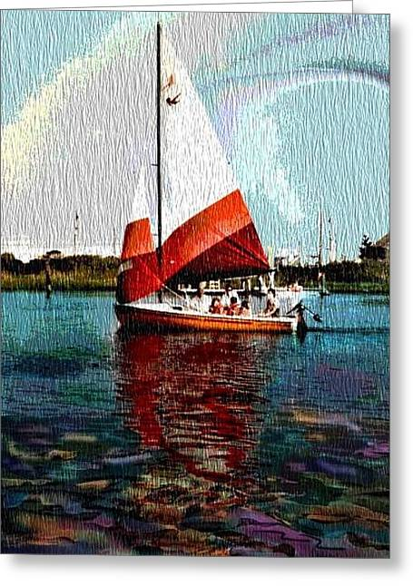 Sail Along On The Sea Greeting Card