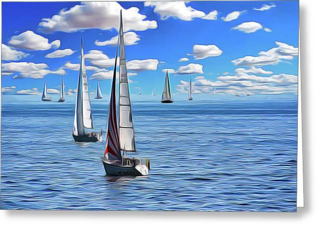 Sail Day Greeting Card