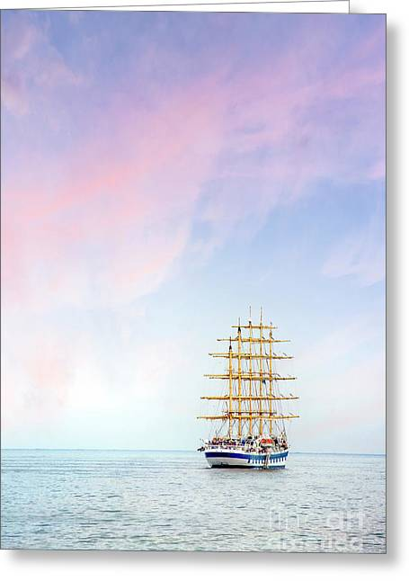 Sail Eternal Greeting Card