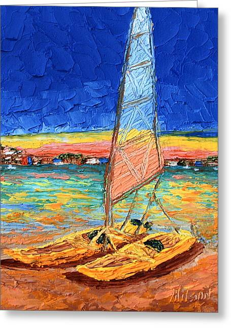 Sail For Two Greeting Card