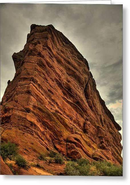 Sail Rock Greeting Card by Patrick  Flynn