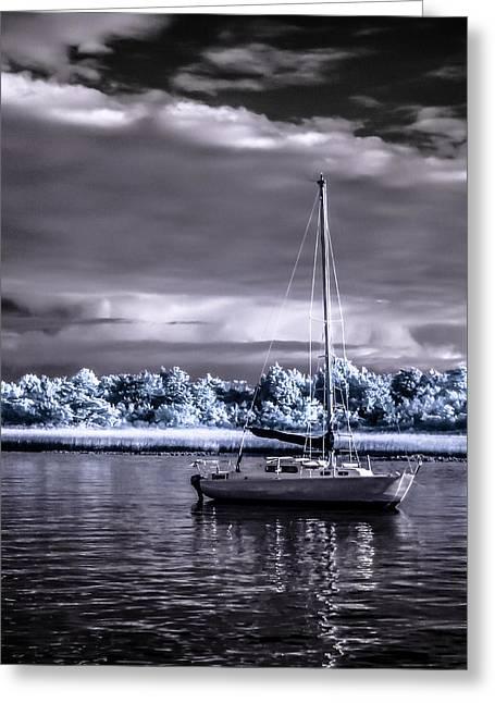 Sailboat 01 Greeting Card