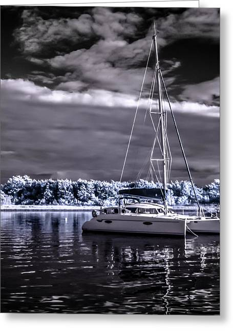 Sailboat 02 Greeting Card