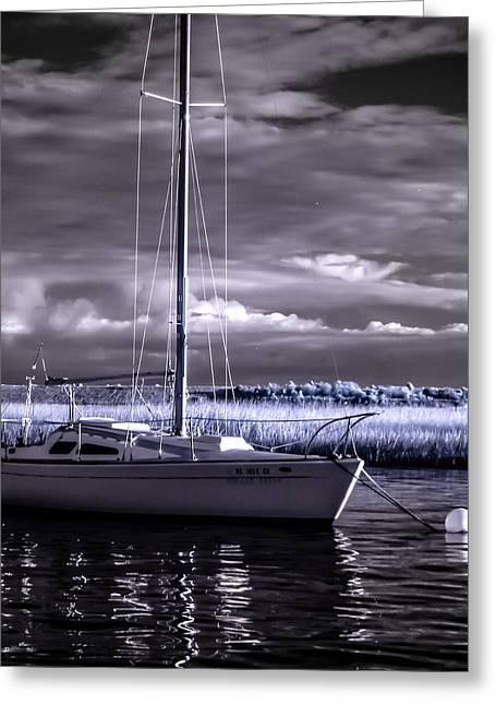 Sailboat 03 Greeting Card