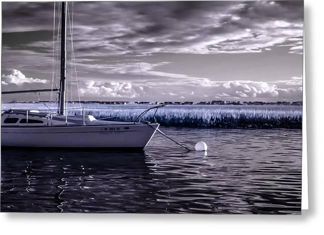 Sailboat 04 Greeting Card