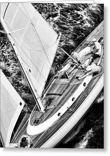 Sailing A Classic Greeting Card
