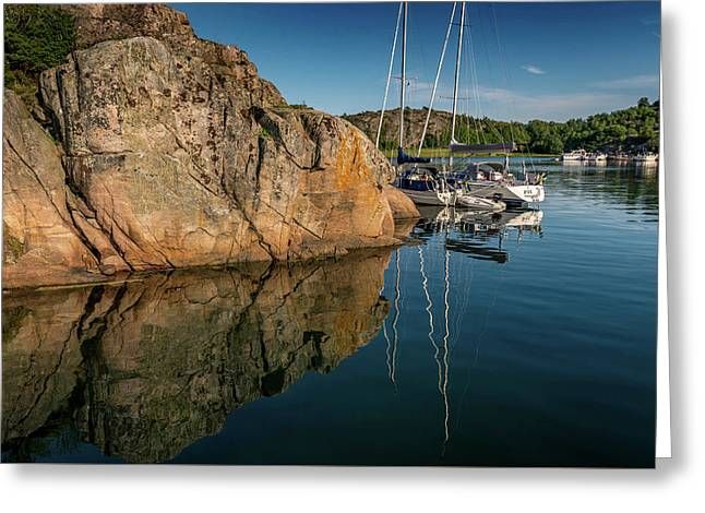 Sailing In Sweden Greeting Card