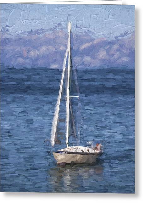 Sailing Lake Tahoe Greeting Card