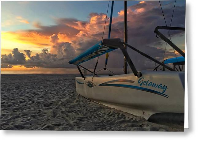 Sailing Still Greeting Card