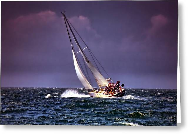 Sailing To Nantucket 001 Greeting Card