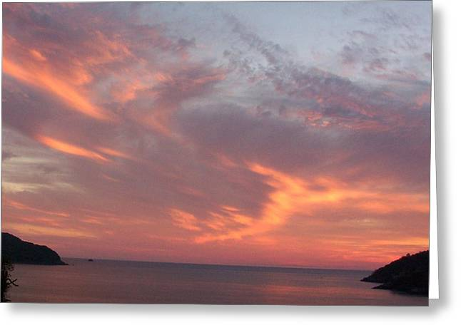 Sailors Delight Greeting Card by James Johnstone