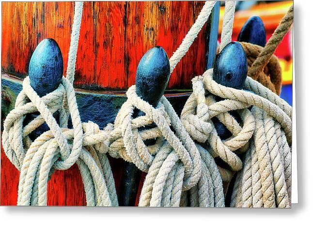 Sailor's Ropes Greeting Card