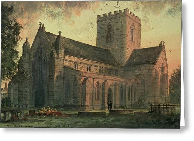 Saint Asaphs Cathedral Greeting Card by Paul Braddon