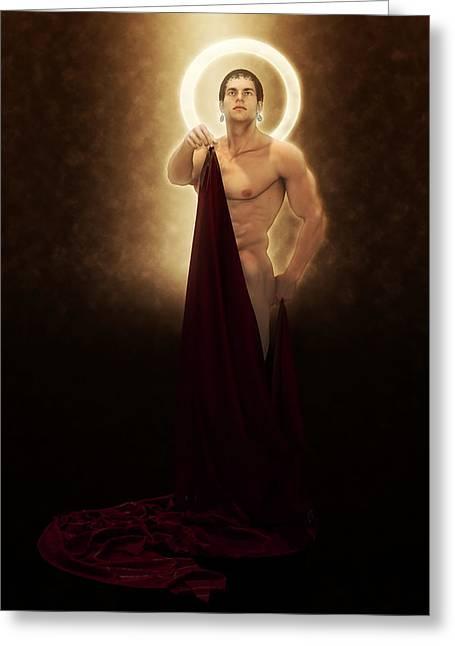 Saint Bacchus Martyr Greeting Card